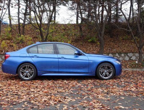 BMW 320d 포토