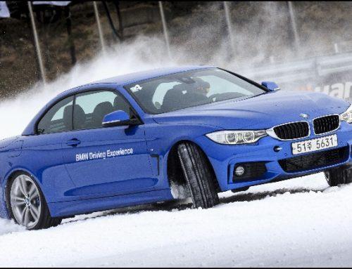 눈길에서 BMW 타는 법