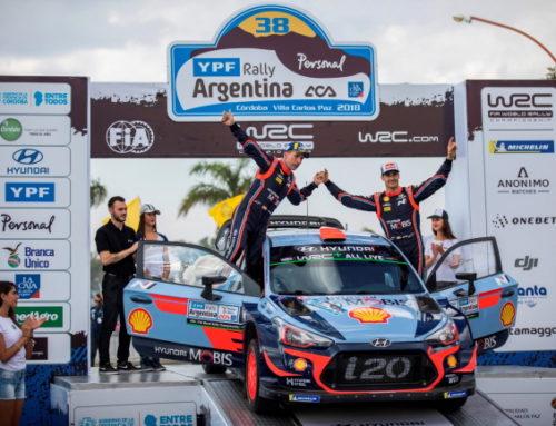 현대차 월드랠리팀, WRC 아르헨티나 랠리 2위, 3위 차지