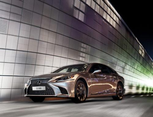 렉서스, 신형 LS500 가솔린 터보모델 출시 가격 1억2,600만 원 부터