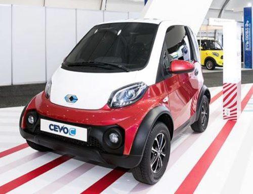 캠시스, 초소형 전기차 CEVO-C 공개 500만원~600만원