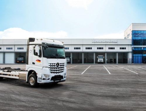 다임러 트럭, 오산 서비스 센터 오픈