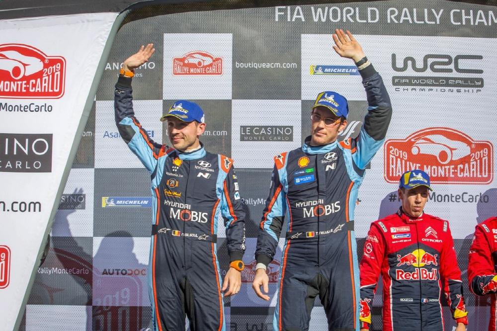 현대차 월드랠리팀, 2019 WRC 몬테카를로 랠리 1위 달성