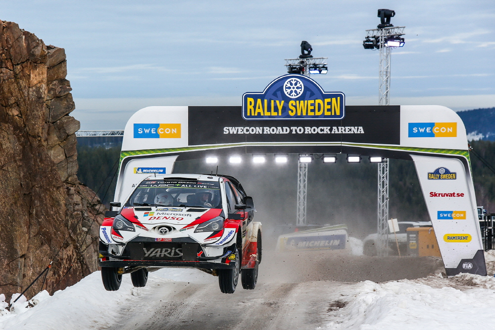 토요타 가주 레이싱팀, 2019년 WRC 2차전 우승