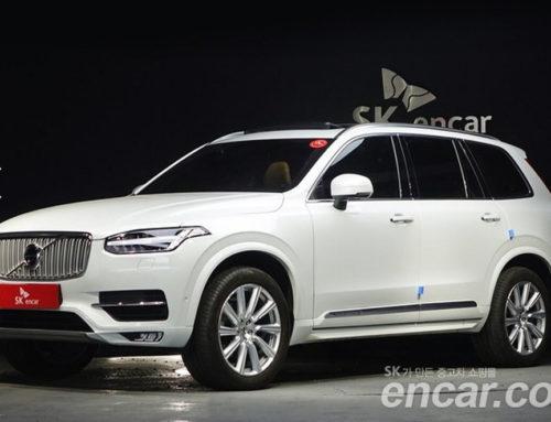 대형 SUV 잔존가치 1등, 볼보 XC90