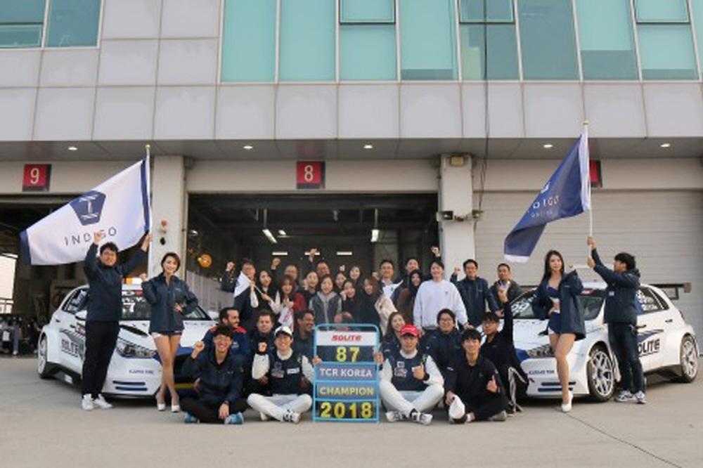 인디고 레이싱, 2019년 TCR 아시아 시리즈 참가