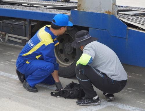 미쉐린코리아, 트럭‧버스 타이어 점검 `서비스 캠프` 진행