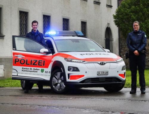 현대차 `코나 일렉트릭`, 스위스 경찰차로 선정