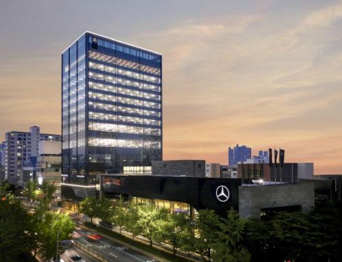 벤츠코리아, 국내 최대 규모 `부산 남천 전시장` 운영