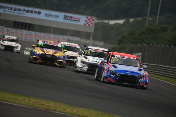 현대차 `i30 N TCR` TCR아시아 中경기 우승행진
