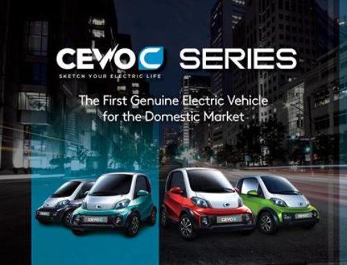 캠시스, 초소형 전기차 `쎄보(CEVO)-C` 판매 개시