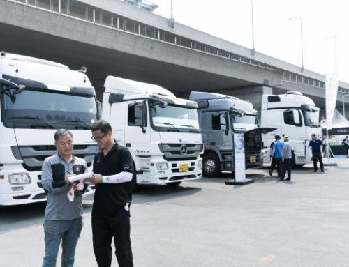 벤츠트럭, 혹서기 트럭커 위한 특별 서비스 진행