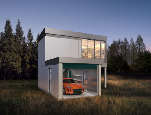 라라클래식, 차고 결합형 모듈 주택 공개