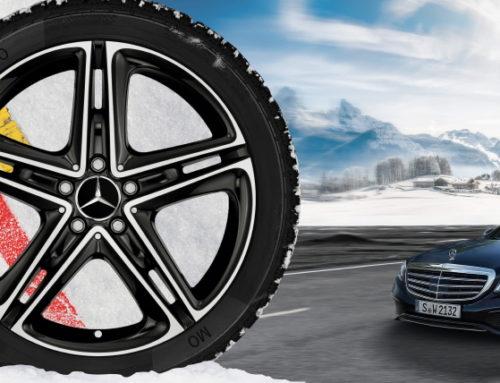 벤츠, 윈터 휠&타이어 패키지 예약 프로모션 실시