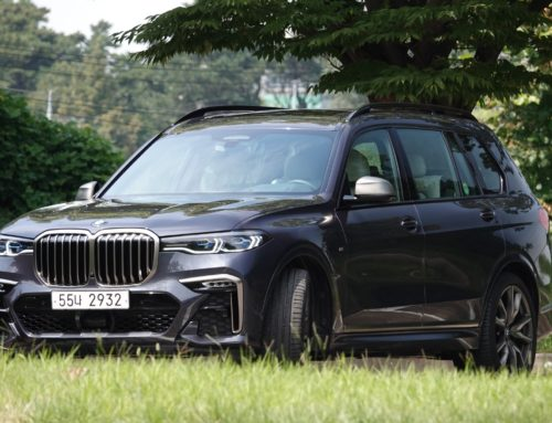 BMW  X7 M50d, 플래그십 SUV의 진화