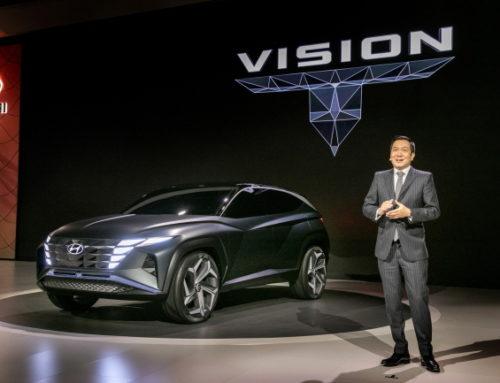 [LA오토쇼] 현대차, 하이브리드 SUV 콘셉트 비전 T 공개