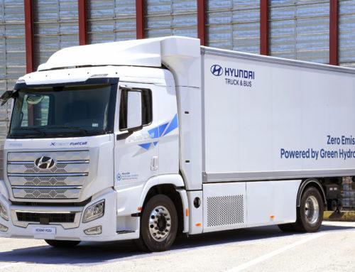 현대차 환경부와 수소 전기 화물차 보급 시범사업 양해각서 체결