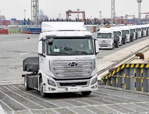 현대차, 세계 최초 액시엔트 수소 전기트럭 양산구축하고 스위스 수출 시작