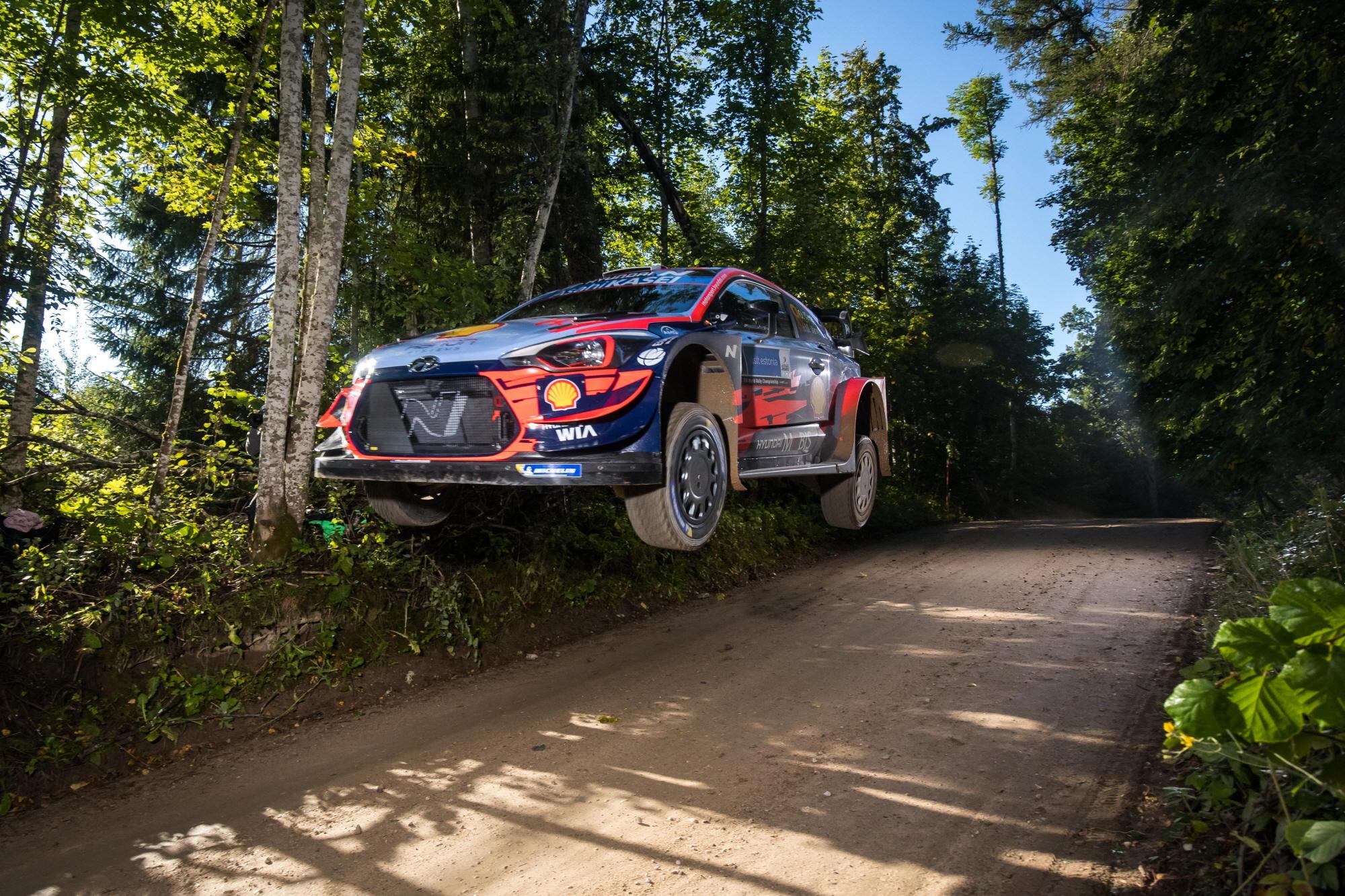 현대차 월드랠리팀, 2020 WRC 에스토니아 랠리 우승