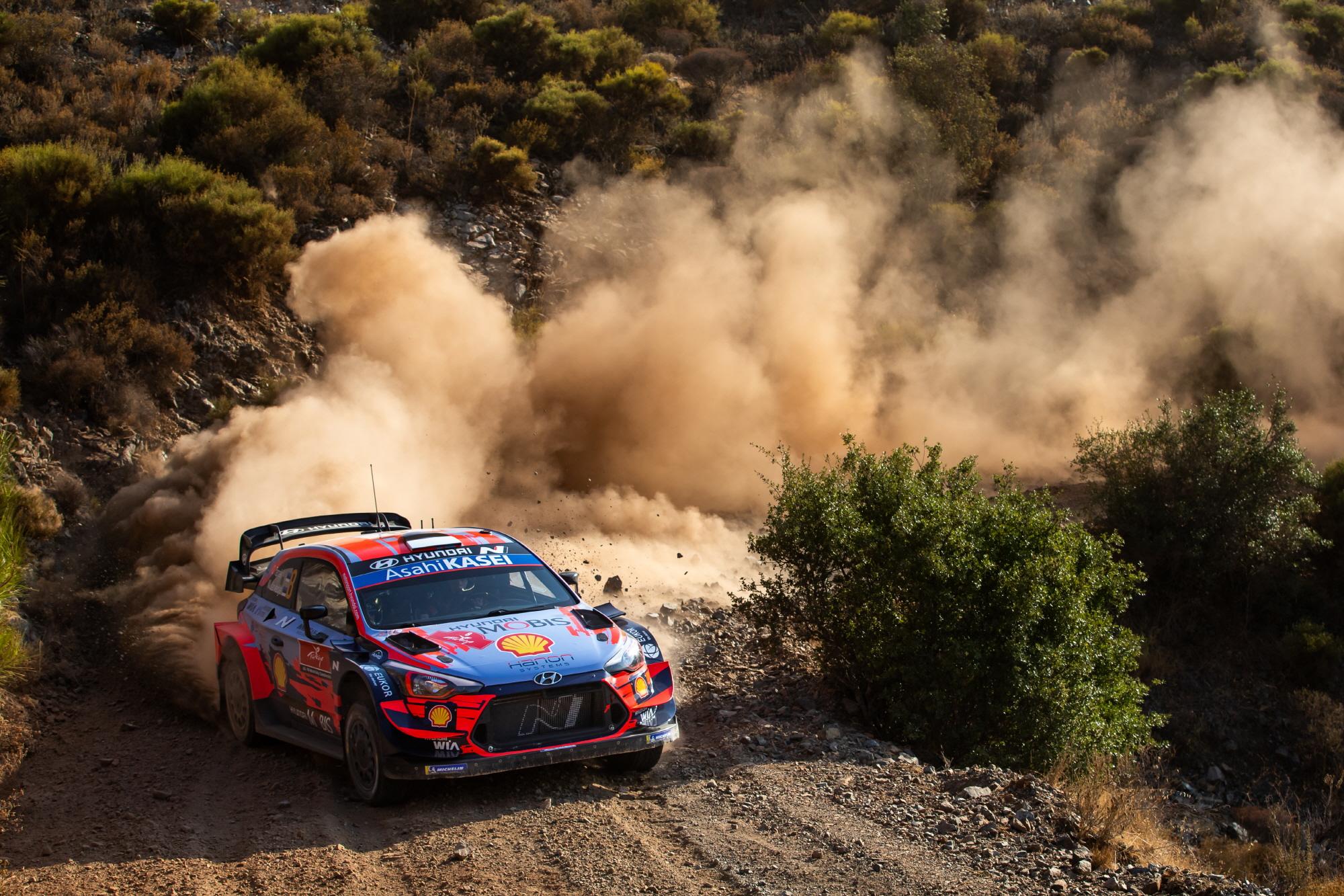 현대차, 2020 WRC 2년 연속 더블 포디움 달성