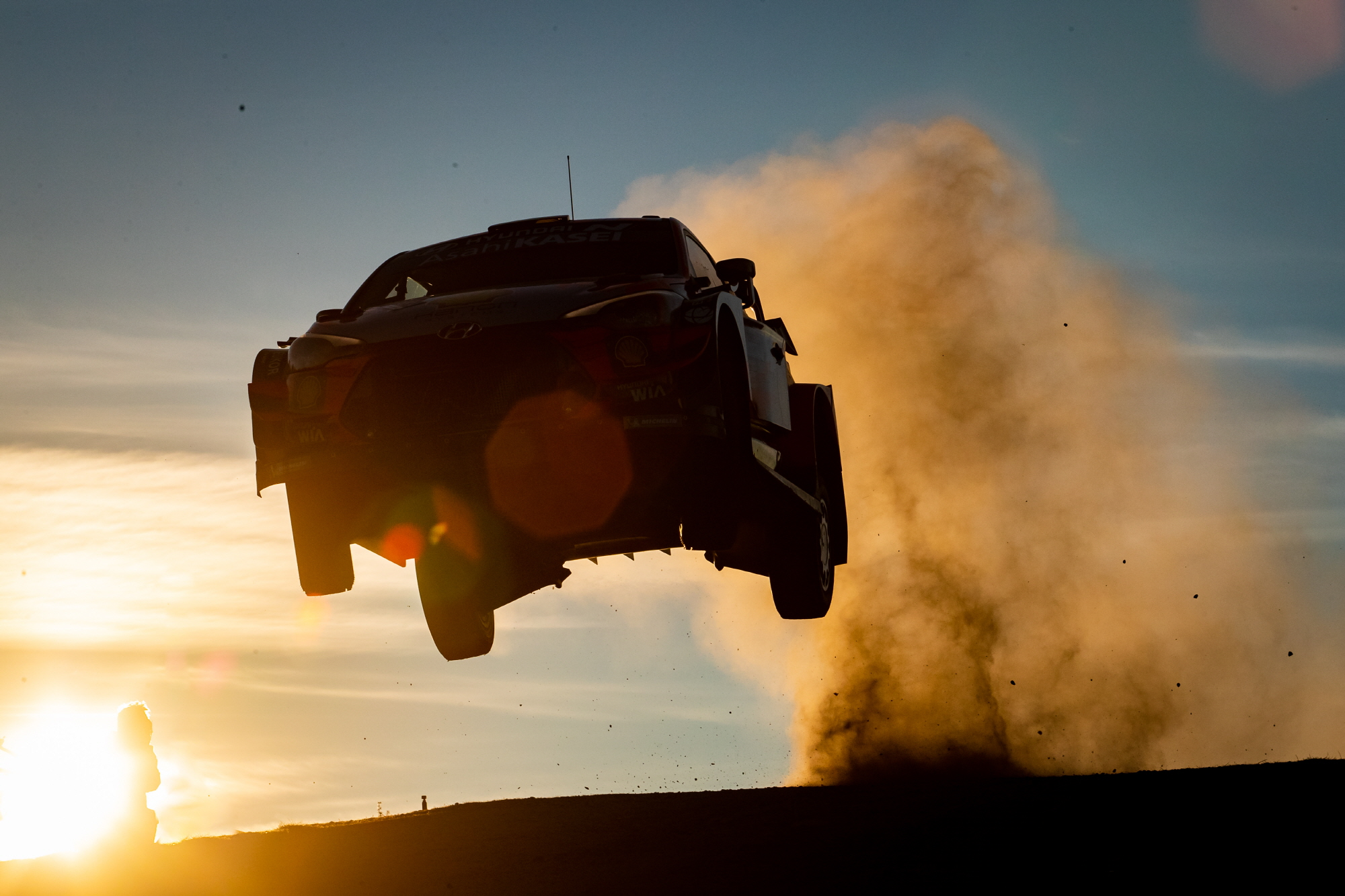 현대차 WRC 6차전, 3연속 더블 포디움 달성
