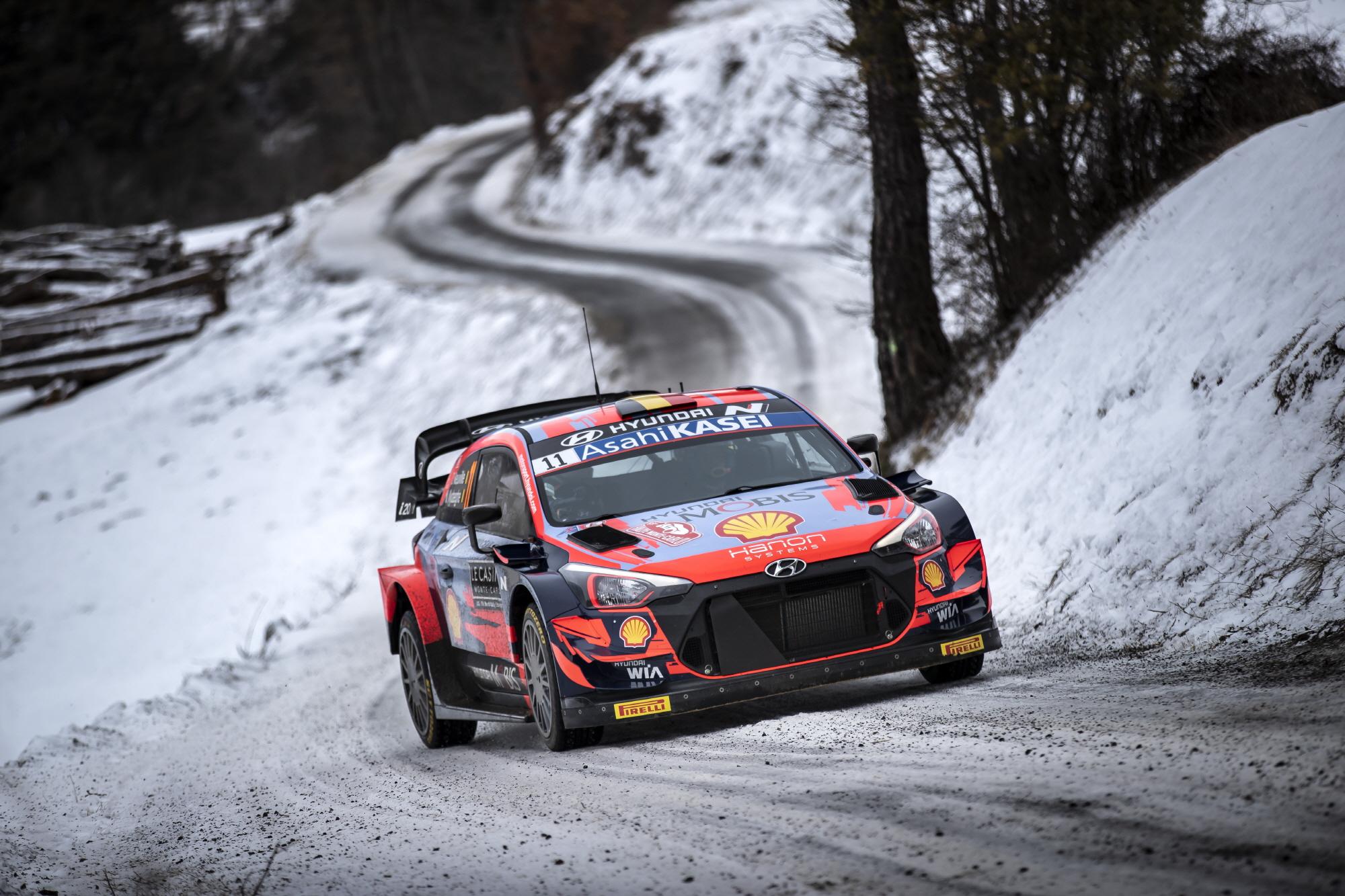 현대차, 하이브리드 파워트레인이 적용되는 '2022 WRC' 참가 결정