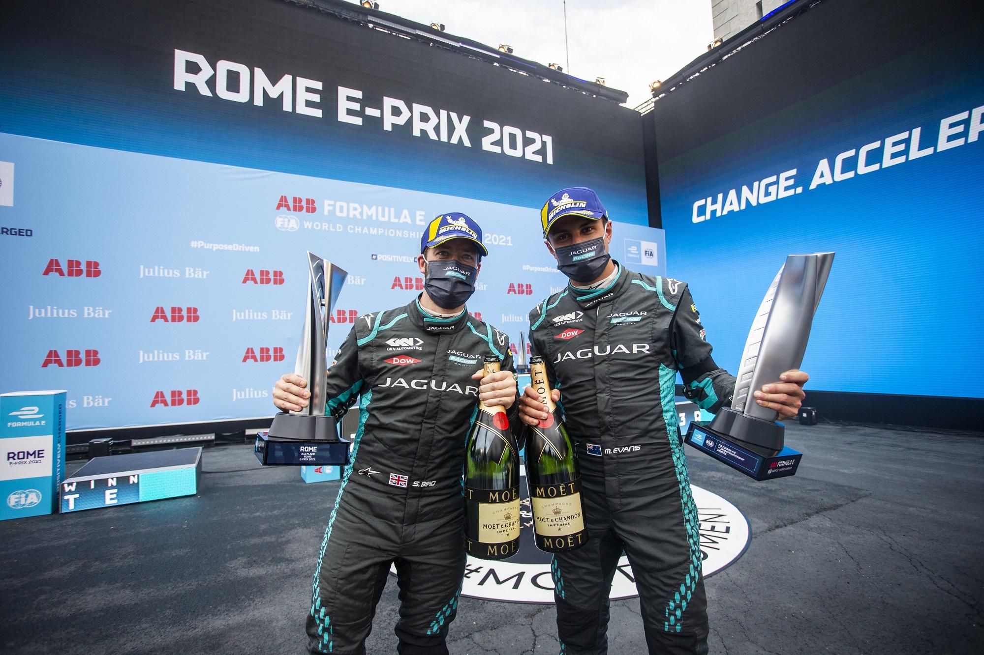 재규어, ABB FIA 포뮬러 E월드 챔피언십 7라운드 3위